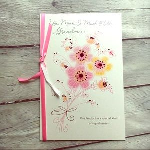 5/$15 Happy Mother's Day Grandmother Greeting Card